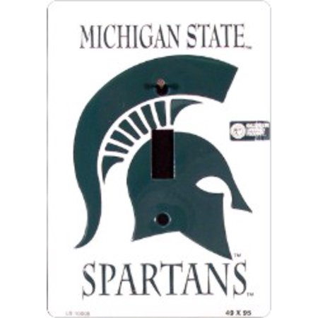 Michigan State Metal Light Switch Plate