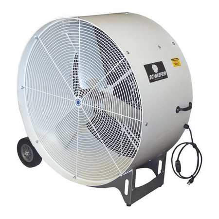 "Schaefer 36"" Mobile Air Circulator, 7700 11,000 cfm, GVKM36-2-O by Schaefer"