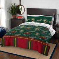 Minnesota Wild Queen Bed In Bag Set