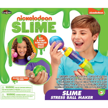 Nickelodeon Stress Ball Slime Gun by Cra-Z-Art (Best Golf Ball For Slice)