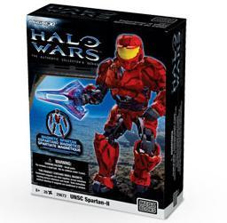 Mega Bloks Halo Magnetic Figures UNSC Spartan-II Set #29672 [Red]