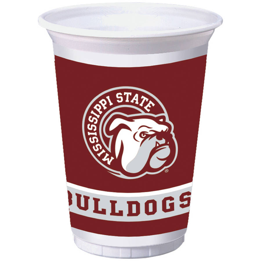 Mississippi State Bulldogs Cups, 8-Pack