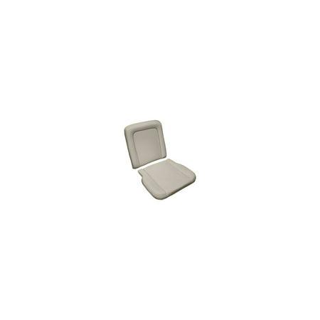 MACs Auto Parts Premier  Products 42-57060 -67 Fairlane- Ranchero Molded Front Bucket Seat Foam, 1 Cushion & 1 Backrest