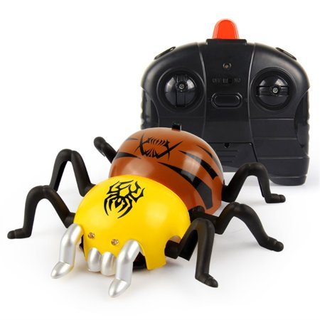 Remote Control Spider Creative Remote Control Spider Toy - Halloween Prank Holiday Gift Remote Control Spider