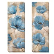 Artistic Home Gallery 'A Summer Wind' by Nan 2 Piece Painting Print on Wrapped Canvas Set
