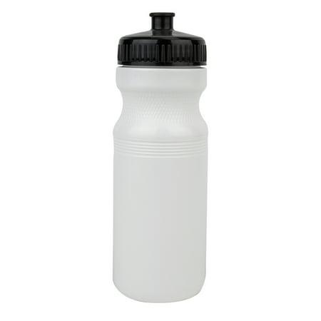 Sunlite 24Oz Water Bottle Only Usa White