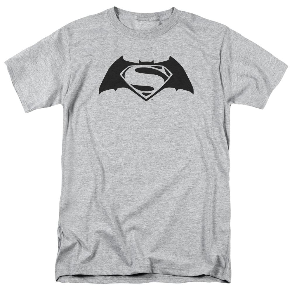 Batman Vs Superman Simple Logo Mens Short Sleeve Shirt