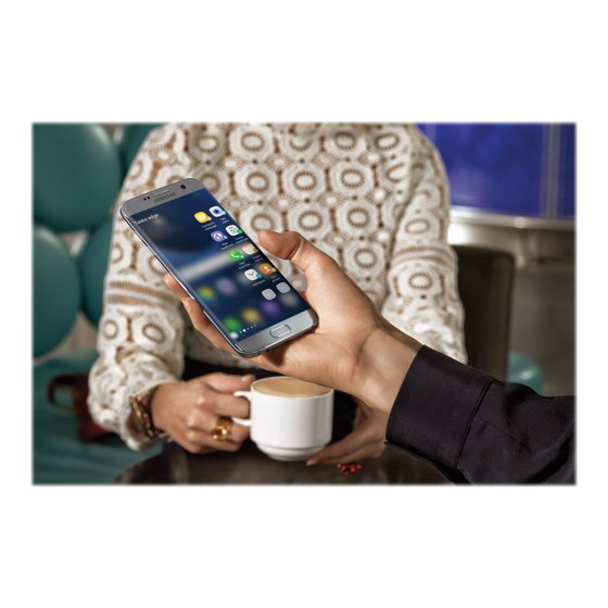 Samsung Galaxy S7 Edge Silver Titanium - Sprint - Used