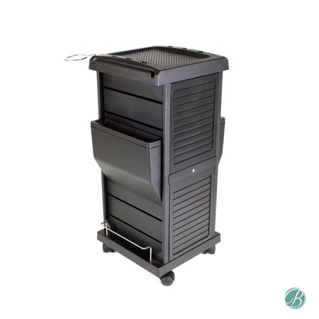 - Claire Lockable Salon Trolley Cart Perfect for Hair Salon,Tattoo Studio, Spa, Office, Skincare, Day Spa Qty 1