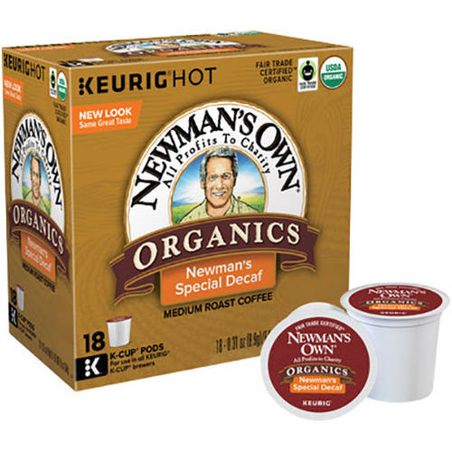 Newman's Own Special Decaf K-Cup Coffee, 18 count