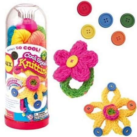 Knitting Kits For Kids (ALEX Toys Craft Cool Spool Knitting)