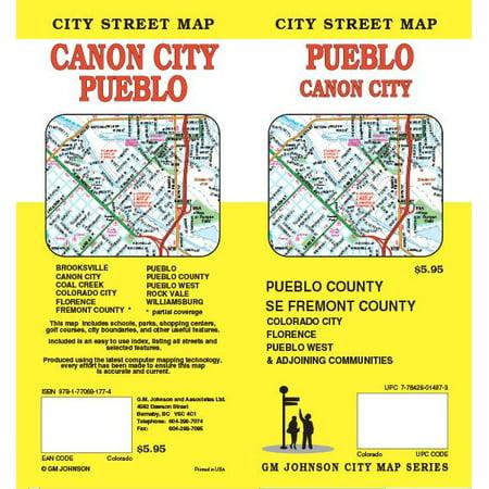 Rand Mcnally Folded Map Pueblo/canon City Co - Walmart.com on