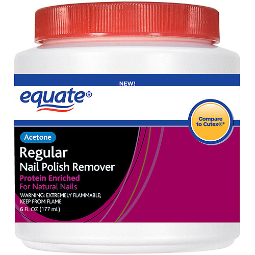 Equate Acetone Regular Nail Polish Remover Dip, 6 fl oz