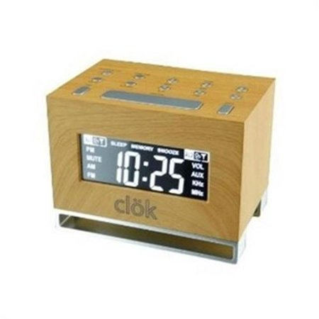 GPX Intelli-Set Clock with Digital Tune AM/FM (Set Me An Alarm For 5 Am)