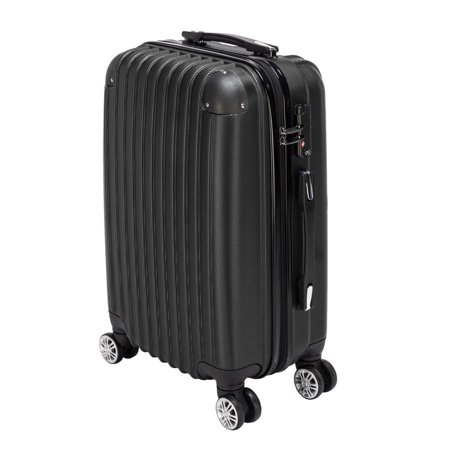 20 Aluminum Hardcase Travel Luggage Suitcase Carry Rolling Casters Wheel Black/Silver/Rose Gold