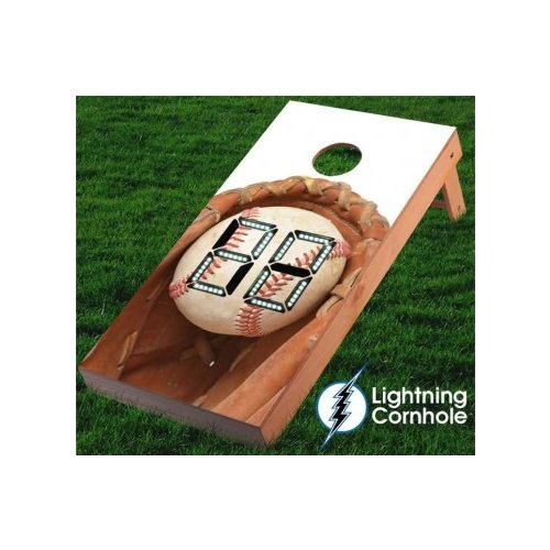 Lightning Cornhole Electronic Scoring Sports Cornhole Board