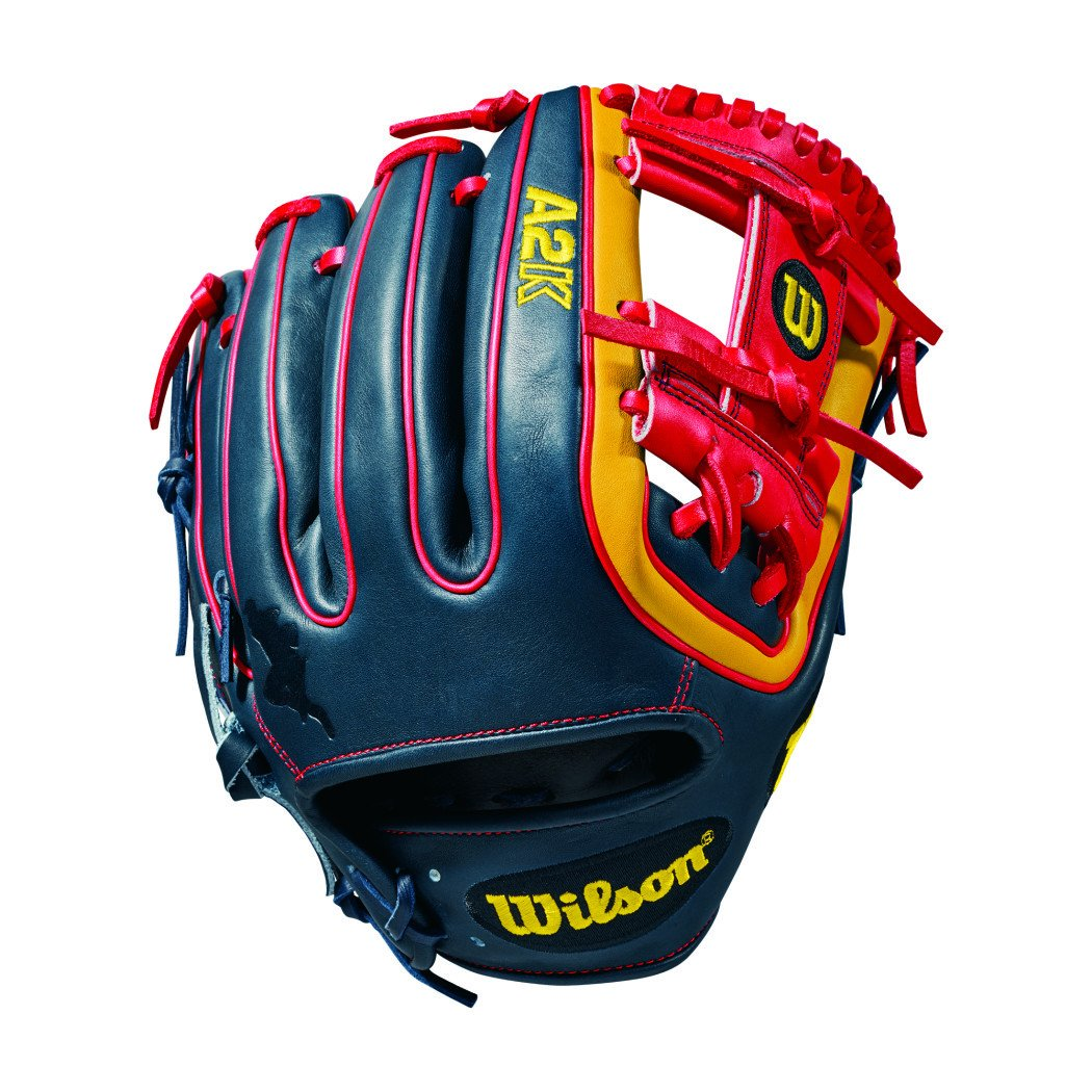 2018 Wilson A2K Brandon Phillips Game Model Baseball Glove (IF), 11.50in, Right Hand Throw 11.50in by Wilson