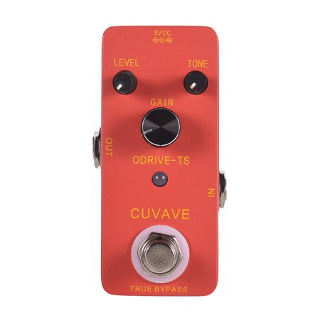 CUVAVE ODRIVE-TS Analog Overdrive Guitar Effect Pedal Zinc Alloy Shell True Bypass - image 1 de 6