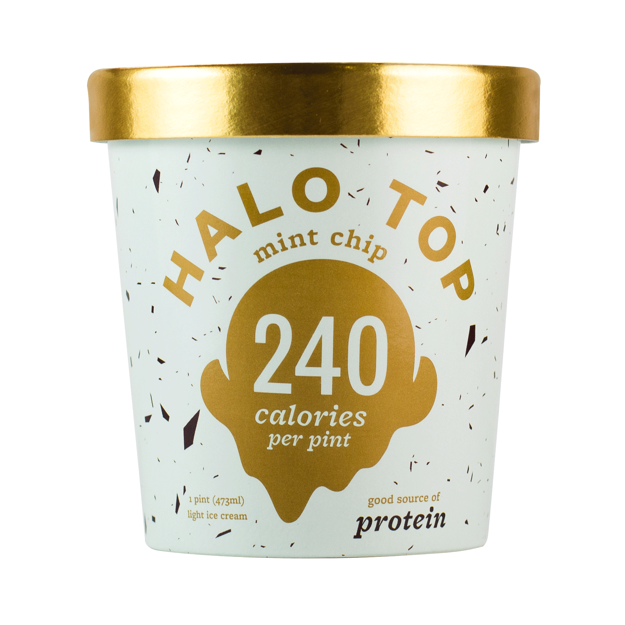 Halo Top Mint Chip Ice Cream, 1 pint