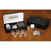 Christian Brands Church Supply WC619 Last Supper Metal Hinged Portable Communion Set