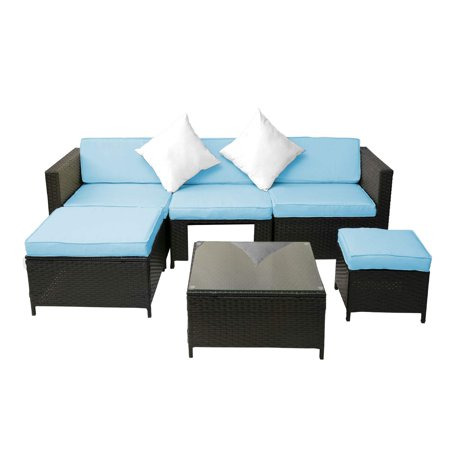 Clearance! 6PCS Outdoor Patio Furniture, All-Weather ...