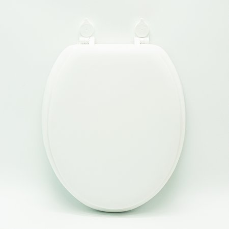 Mainstays Premium Elongate Soft Toilet Seat, Easy-off