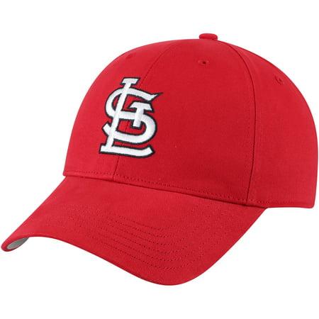 St. Louis Cardinals Fan Favorite Basic Adjustable Hat - Red - (Hat Cardinal's)