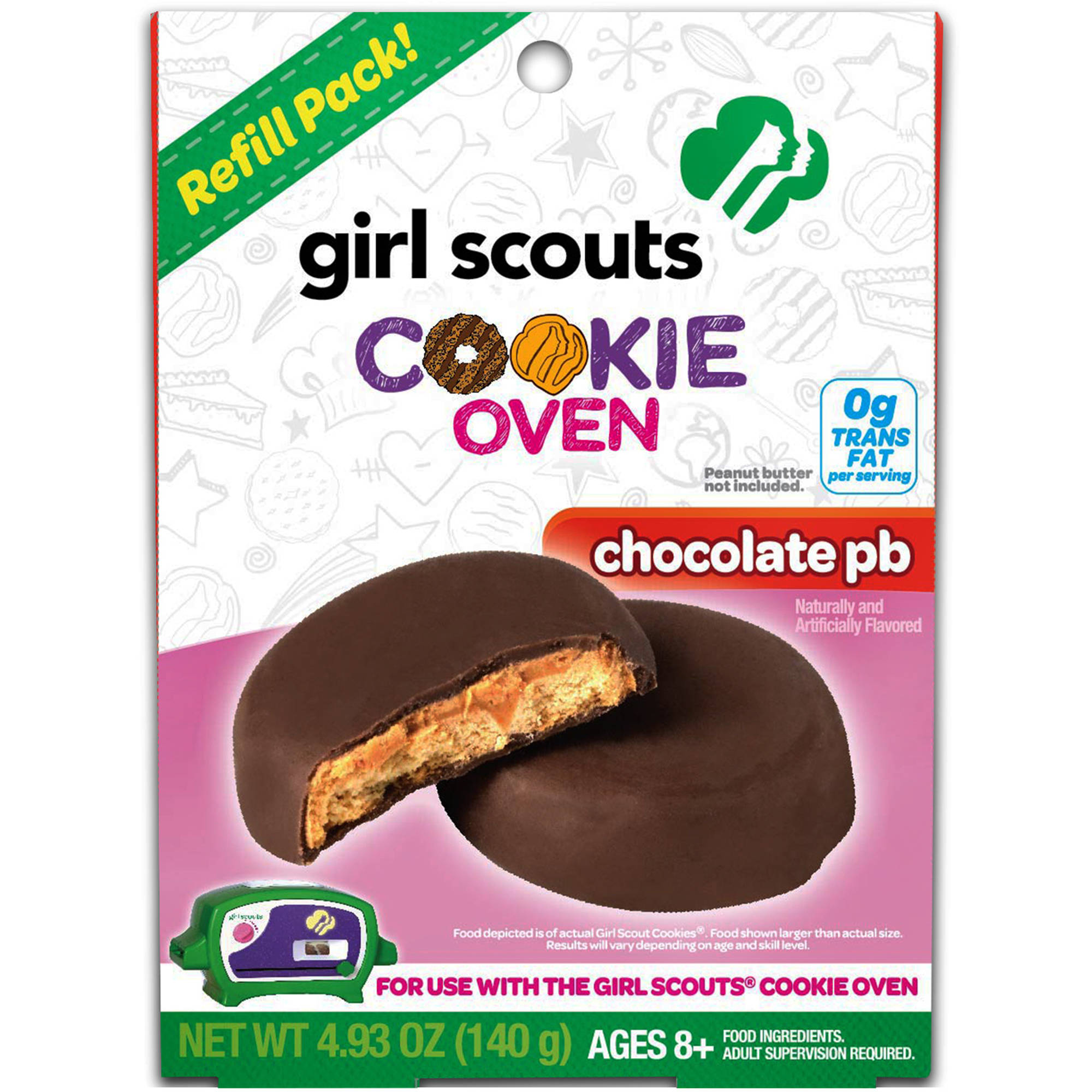 Wicked Cool Toys Girl Scouts Basic Refill Kit, Chocolate Peanut Butter
