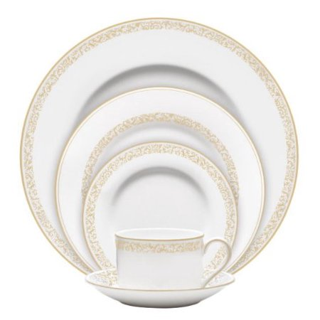 Wedgwood Vera Wang Vera Filigree Gold 5-Piece Place