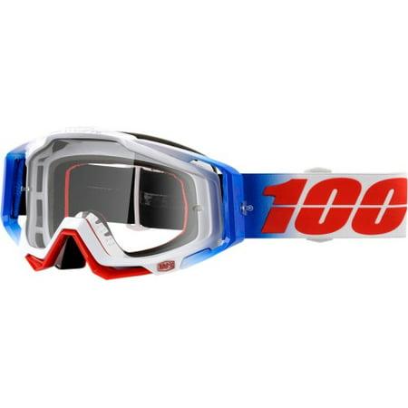 b261df8bc1e5 100% Unisex-Adult Speedlab RACECRAFT Goggle Fourth-Clear Lens