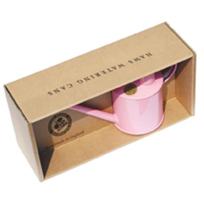 Haws V177P 2 Pint Pink Indoor Metal Pot Waterer  includes Rose