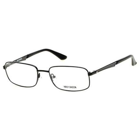 HARLEY DAVIDSON Eyeglasses HD0728 002 Matte Black 59MM - Walmart.com