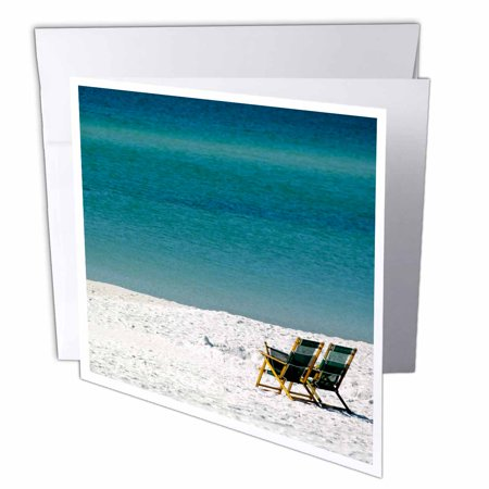 Vitra Set Chair - 3dRose Adirondack Chairs, Fort Walton Beach, Florida - US10 FVI0017 - Franklin Viola, Greeting Cards, 6 x 6 inches, set of 12