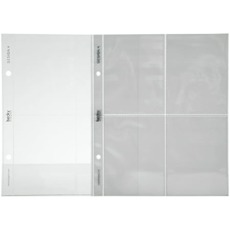 Becky Higgins  Project Life  Design 4 Photo Pocket Pages 12 Ct Pack
