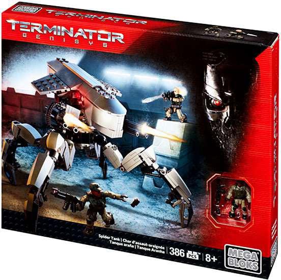 Terminator Genisys Spider Tank Set Mega Bloks 38073 by default