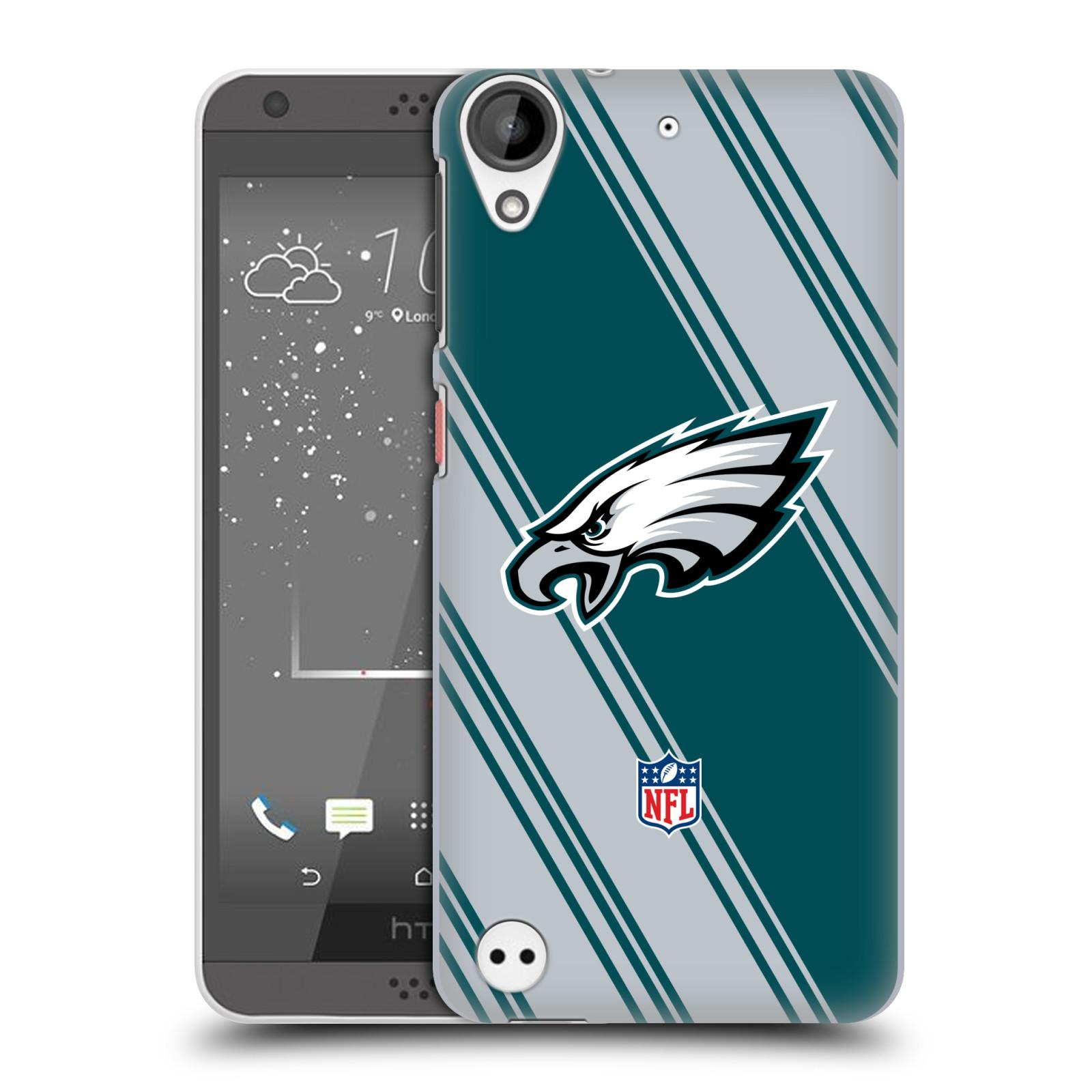 OFFICIAL NFL 2017/18 PHILADELPHIA EAGLES HARD BACK CASE FOR HTC PHONES 1