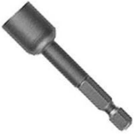 394104A 0.25 in. Hex Shank Bolt Extractor, 10mm Reverse Spiral Teeth - image 1 of 1