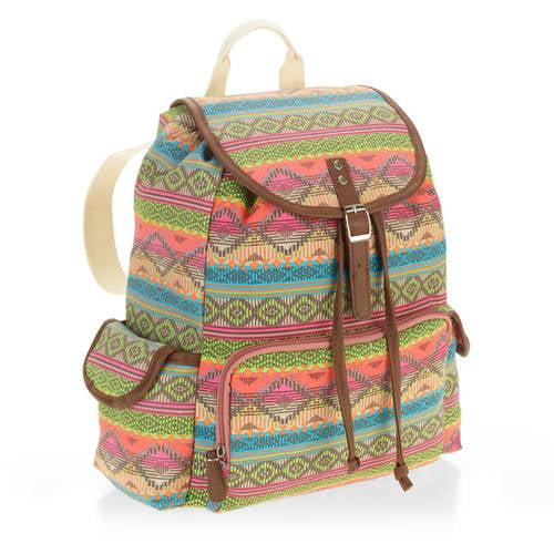 No boundaries Women's Triple Pocket Backpack by Generic
