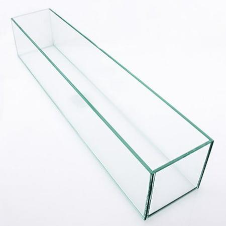 Vasesource Rectangle Floor Glass Pot Planter Walmart Com
