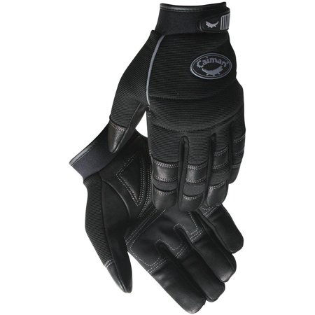 2966-7 Winter/Multi-Activity Gloves Goat Grain with Fleece Insulated and Grip Patch Palm, XX-Large, Black, Genuine goat grain leather By (Genuine Goat)