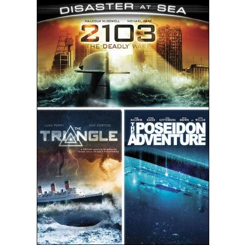 Disasters At Sea: 2103: The Deadly Wake   The Triangle   The Poseidon Adventure by Platinum Disc Corporation