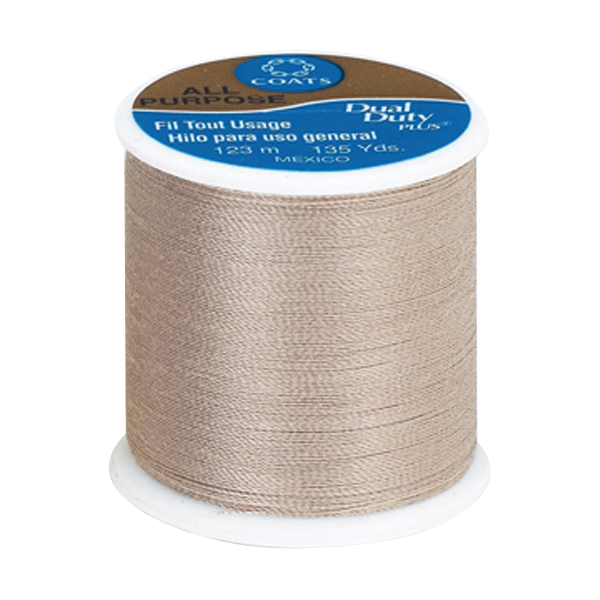 Coats & Clark All Purpose Thread, 135 yds, Buff