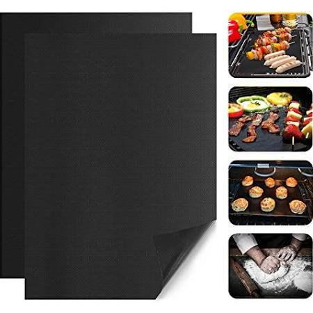 TUCCH BBQ Grill Mat, PAPAYAY Non‑Stick Grill Mats, Barbecue TUCCH BBQ Grill Mat, PAPAYAY NonStick Grill Mats, Barbecue