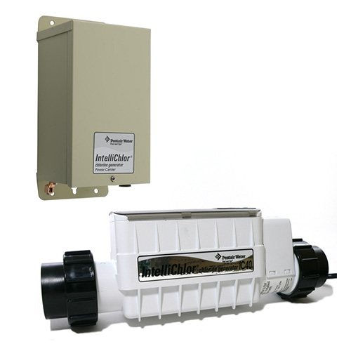 Pentair IntelliChlor IC40 Chlorinator Cell & Power Supply, Pools up to 40K Gallons 520555 520556