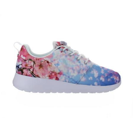 Nike Womens Nike Roshe One Cherry Blossom White Pure