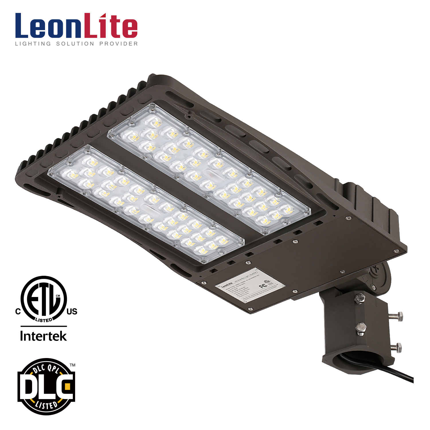 LEONLITE 18000lm Ultra Bright LED Parking Lot Light With