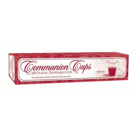 Communion Cups 100ct (Other) - Communion Verse