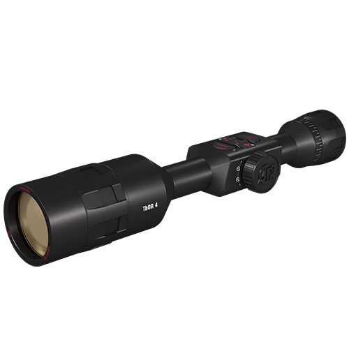 ATN ThOR 4 7-28x, 384x288, Thermal Rifle Scope w/Ultra Sensitive Next Gen Sensor, WiFi, Image Stabilization, Range Finder, Ballistic Calculator and IOS and Android Apps