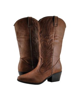 f18cfe64f Product Image Qupid Montana18 Women's Western Inspired Heeled Boot