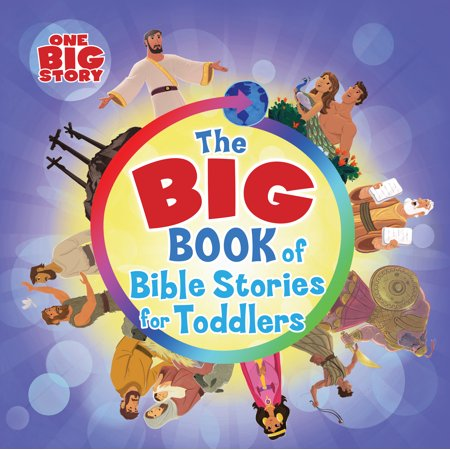 Big Book of Bible Stories for Toddlers (Board Book) - Halloween Flannel Board Stories